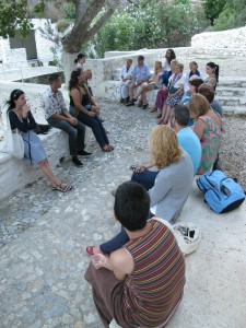 Story telling workshop in Ano Syros