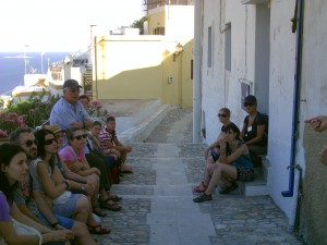 Tour guide to Ano Syros
